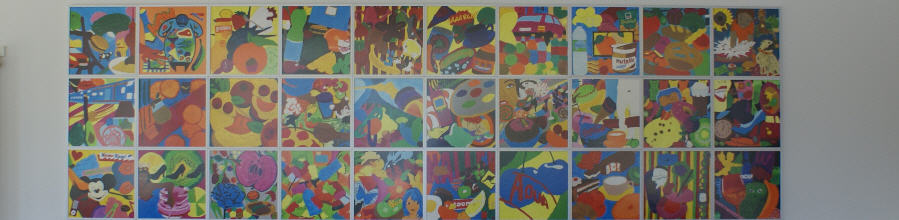 Farbe in der Schule