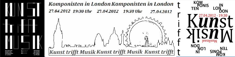 """Musik trifft Kunst – art meets music: London"""