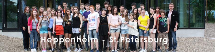 Russische Gäste aus St. Petersburg am Starkenburg-Gymnasium