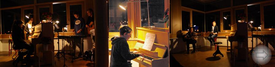 Besinnlich in die Weihnachtszeit – Literatur- und Kammermusikabend