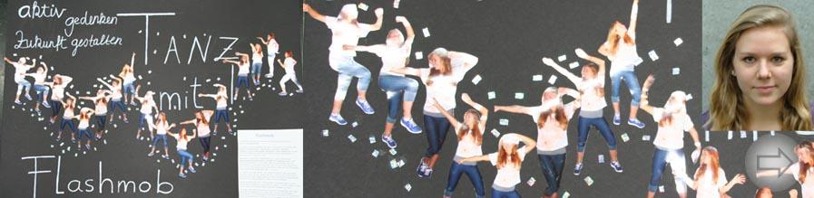 Andersartig gedenken mit Flashmob