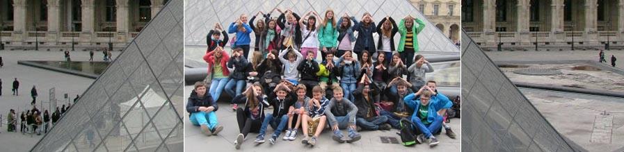 Schüler des Starkenburg-Gymnasiums zu Besuch  in Le Chesnay
