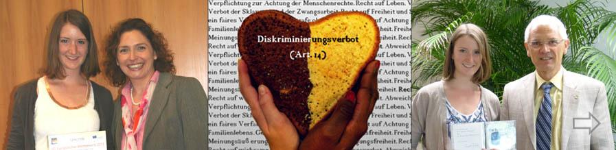 Ein Kuchen für die Menschenrechte