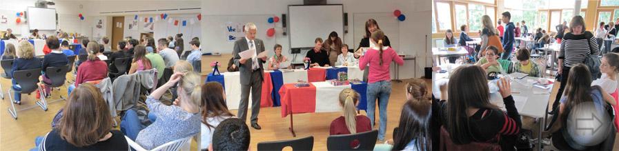 Vorlesewettbewerb in französischer Sprache am Starkenburg-Gymnasium