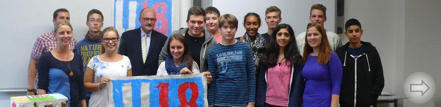 U18-Wahlen in der Starkenburg-Projektwoche