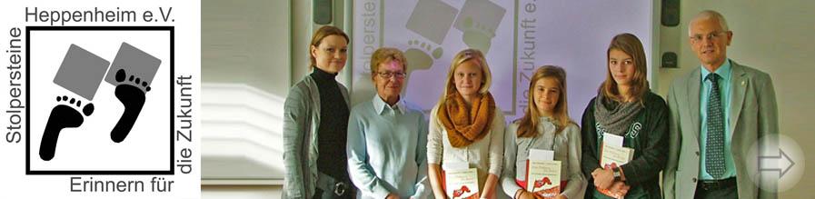 SGH-Schüler gestalten Logo für Stolpersteine Heppenheim e.V.