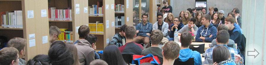 Bundesweiter Vorlesetag am Starkenburg-Gymnasium