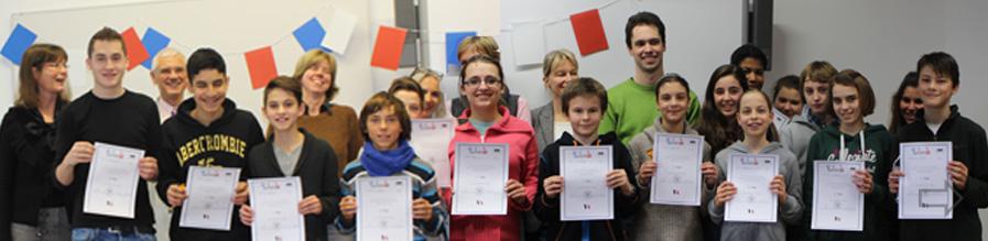 Französischer Vorlesewettbewerb am SGH
