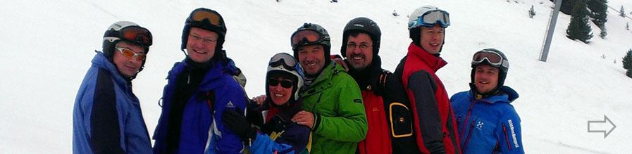 Neues vom Skifahren – Fortbildung des Skilehrererteams des SGH