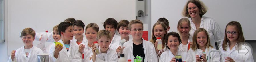 Abschlusspräsentation des  8. Chemieforschungslabors am Starkenburg-Gymnasium am 22.5.2014