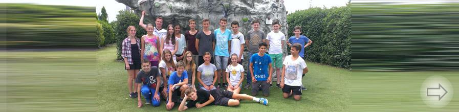 """Sicher nach oben … """"WU – Jugend trainiert"""" in der Kletterhalle HighHill in Bensheim"""