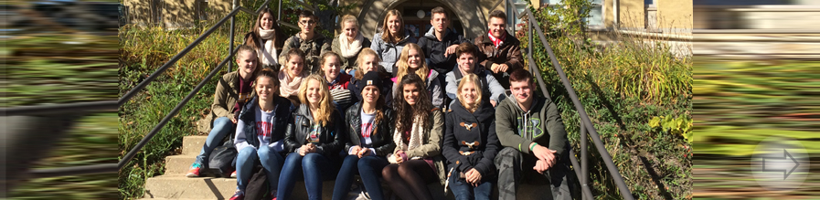 Schülerinnen und Schüler des SGH zu Gast in West Bend, USA