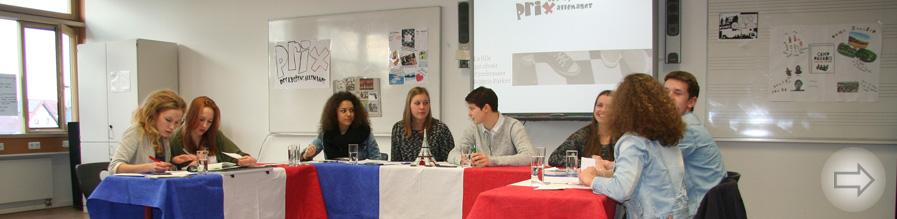 Schülerjury des Leistungskurses Französisch am Starkenburg-Gymnasium wählt Favoriten für französischen Jugendliteraturpreis