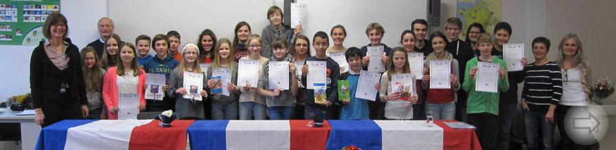 « Lire en français » –  Schulinterner Vorlesewettbewerb am Starkenburg-Gymnasium in französischer Sprache