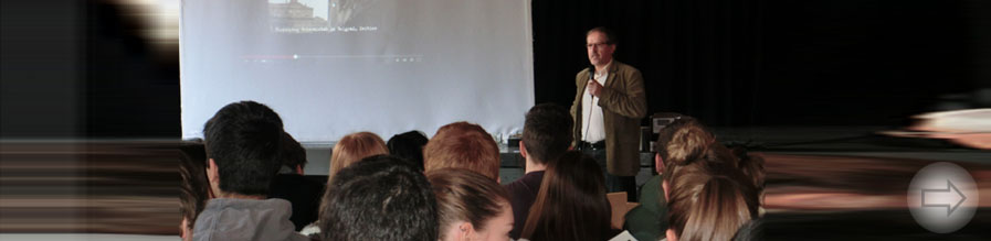 Friedensprogramm am Starkenburg-Gymnasium in Heppenheim vorgestellt