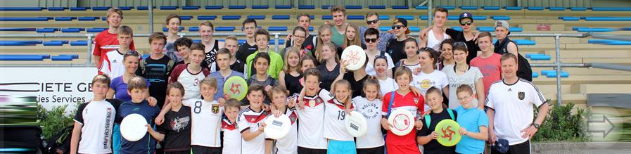 Ausgezeichnete Ergebnisse des Starkenburg-Gymnasiums beim Ultimate Frisbee Turnier in Heidelberg