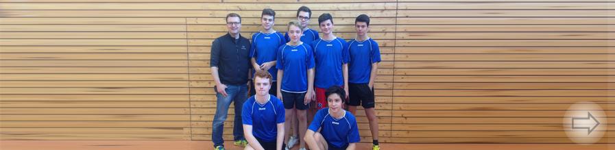 Starkenburg Gymnasium verteidigt den Sieg im Kreisentscheid Tischtennis