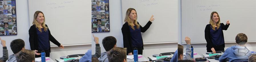 Die Fachschaft Französisch des Starkenburg-Gymnasiums freut sich über muttersprachliche Verstärkung