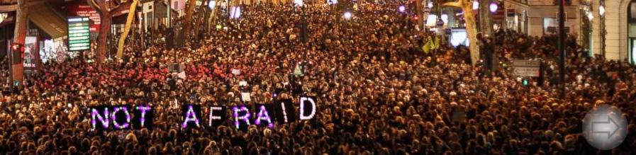Schweigeminute für Paris