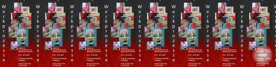 """Ausstellung """"Werkprozesse"""" im Museum Heppenheim"""
