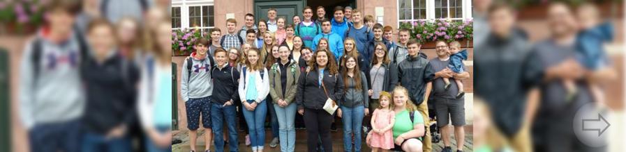 Schüler aus West Bend zu Gast im Heppenheimer Rathaus