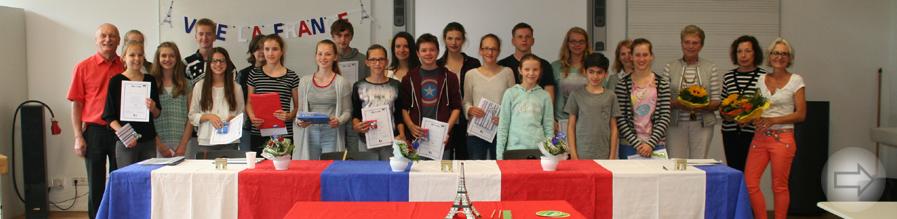 Regionaler Vorlesewettbewerb am Starkenburg-Gymnasium in französischer Sprache