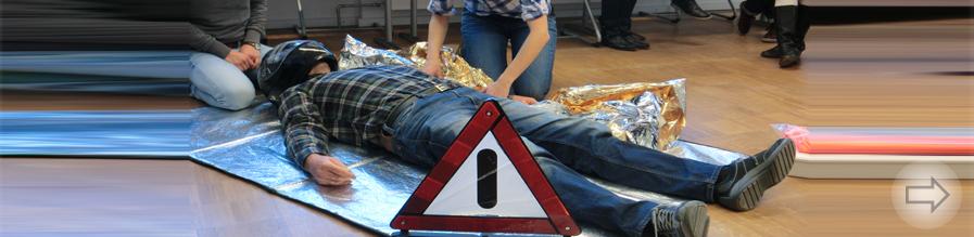 Fortbildung Erste Hilfe für Lehrkräfte des Starkenburg-Gymnasiums
