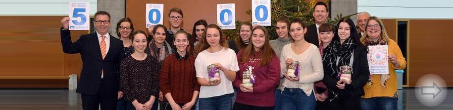 Kapital für die Schüler-Bäckerei