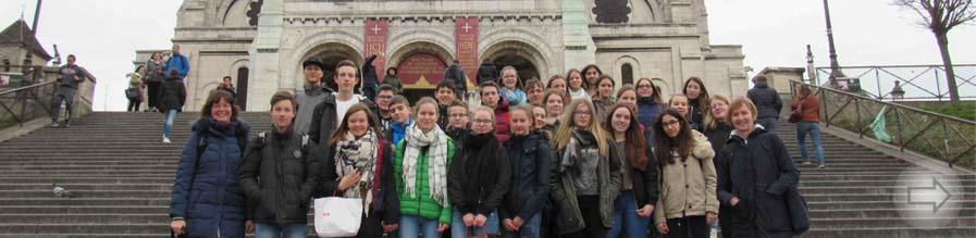 Schüler des Starkenburg-Gymnasiums zu Gast in Le Chesnay