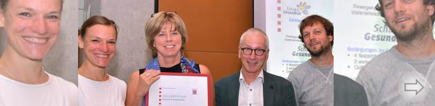 """Starkenburg Gymnasium als """"gesundheitsfördernde Schule"""" zertifiziert"""