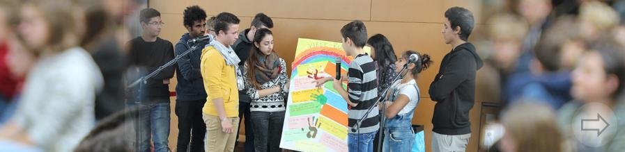 Vielfalt verbindet – Eröffnung der Interkulturellen Woche 2017 am Starkenburg-Gymnasium