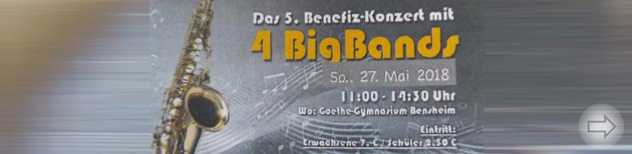 Benefiz-Konzert mit 4 BigBands