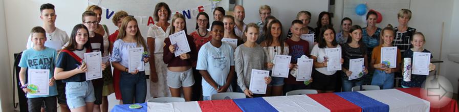 Sieben Bergsträßer Schulen bei regionalem Wettbewerb in französischer Sprache vertreten
