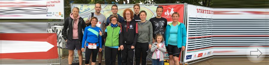 """""""Team Lehrlauf"""" vom Starkenburg beim 10 Freunde Triathlon am Start"""