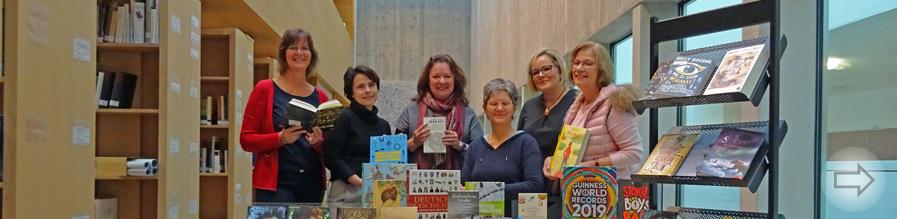 Neue Bücher für das ViB und die Mediothek im Starkenburg-Gymnasium