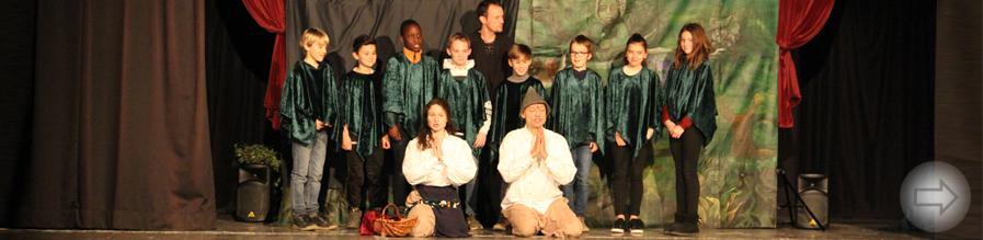 Junge Oper Detmold zu Gast dank großartiger Unterstützung des Fördervereins