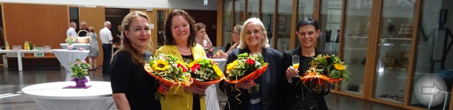 Abschied von drei starken Frauen des Starkenburg-Gymnasiums