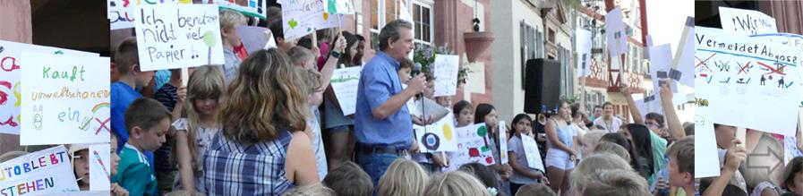 Kindermeilen- Kampagne: Einsatz für den Klimaschutz