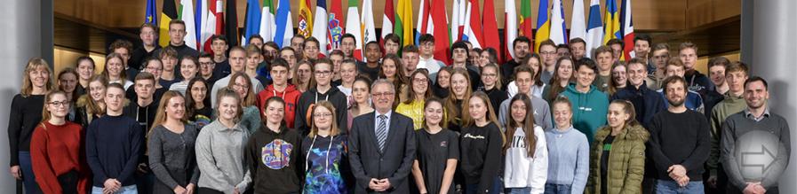 Heppenheimer Schüler im Europa-Parlament
