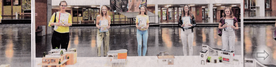 Fünf Abiturientinnen des SGH erhalten eine Auszeichnung beim Europäischen Schülerwettbewerb