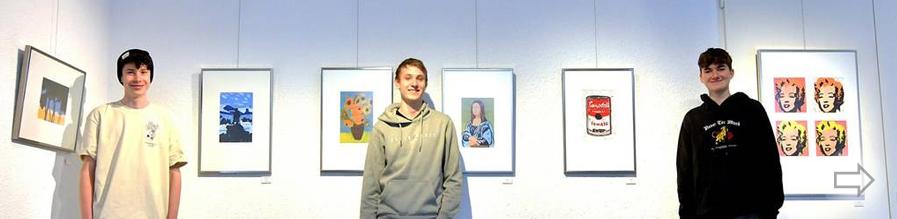Starkenburg-Schüler zeigen ihr künstlerisches Talent