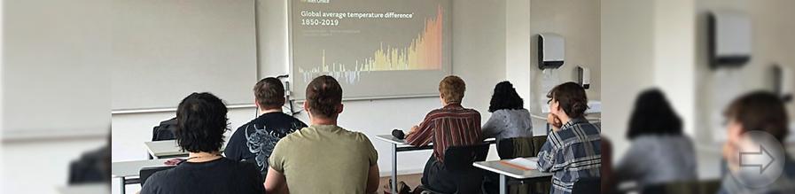 Online-Klimakonferenz mit britischem Wissenschaftsexperten am Starkenburg-Gymnasium
