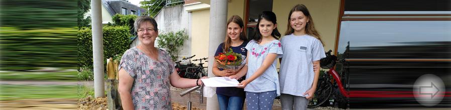 Klasse 5e unterstützt die Arbeit des Hospizvereins Bergstraße